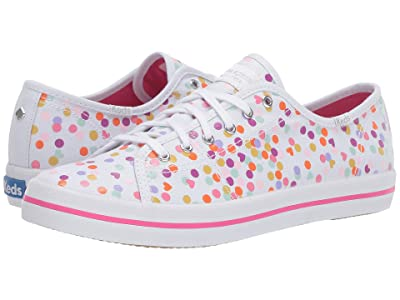 Keds x kate spade new york Kickstart Confetti Print (Cream Multi) Women