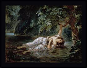 Death of Ophelia by Eugene Delacroix 22