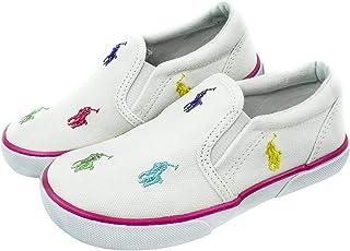 Polo Ralph Lauren White Slip On For Girls