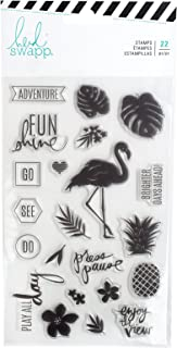 Heidi Swapp 314187 Clear Stamps Embellishments, Multi