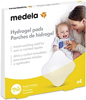 Parches de hidrogel Medela para pezones, Paquete de 4