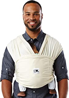 Baby K'tan Organic Baby Wrap Carrier, Infant and Child Sling – Simple Wrap..
