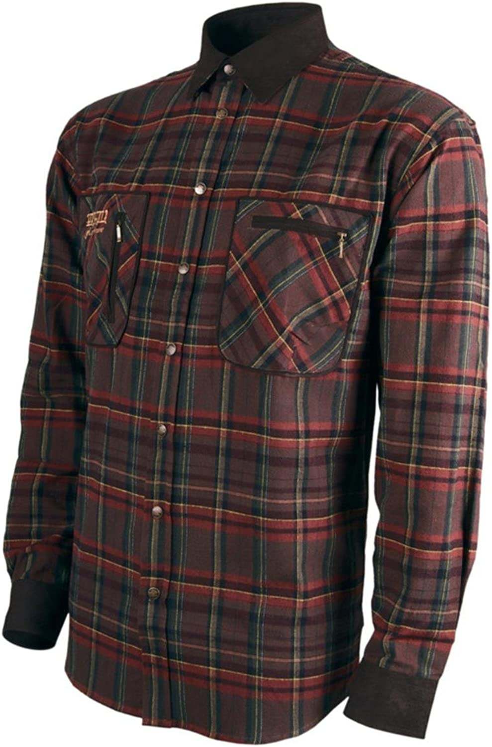 Harkila Pajala shirt Red check Medium Red Medium Red