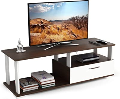 """BLUEWUD Novah Engineered Wood TV Entertainment Unit Cabinet with Storage for Living Room -Ideal for Upto 50"""" Tv (Wenge Finish)"""