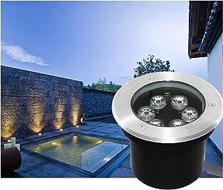 Walkover Led Ground Lights IP67 Waterproof Spotlight Floor Lamp 6W 9W 12W Used for Outdoor, Street, Garden, Patio, 6 Kinds...