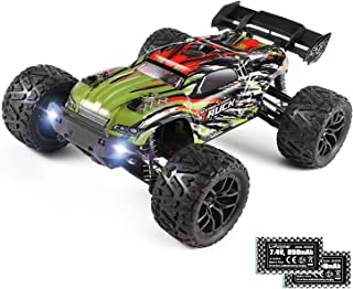 Remote Control Car 1:18 Scale Hailstorm, 4WD All Terrain RC Car High Speed Racing 36 kmh, 2.4 GHz RC Truck 4X4 Off Road Wa...