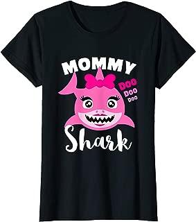 Womens Baby Shark T-shirt for Mom - Doo Doo Doo (Adult)