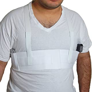 Active Pro Gear Shoulder Holster for Gun Concealed Carry for Pistols Revolvers | Fits Glock 19, 26, 43, Ruger LC9s, S&W Shield, SIG P365, Springfield XD, 1911 | Double Magazine Holder