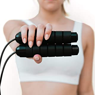 SUPLI [2020 Upgraded] Jump Rope Tangle-Free with Ball...