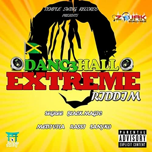 Dancehall Extreme Riddim Instrumental by Temple Swing