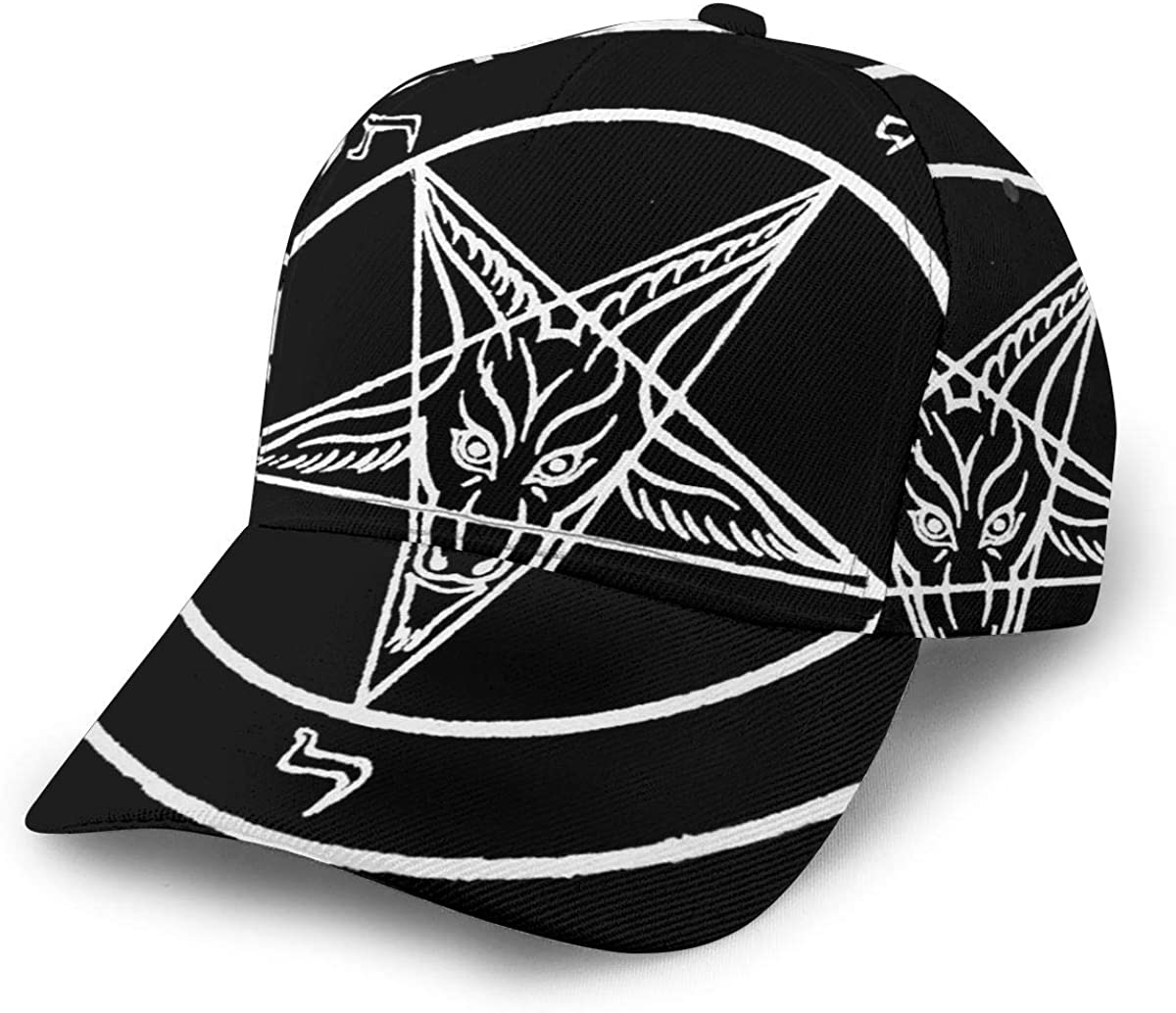 Men's Baseball Caps Adjustable Size Snapback-Cap Hip-Pop Cap Dad Cap