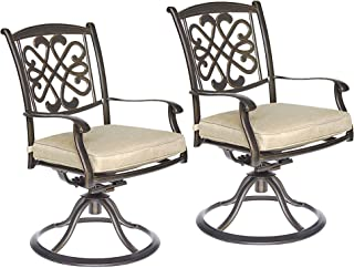 dali Patio Glider chairs, Garden Backyard Chairs Outdoor Patio Furniture 2 Pcs Sets