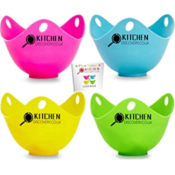 Silicone Egg Poacher Cook Poach Pods Kitchen Cookware Poached Baking Cup H/_sc