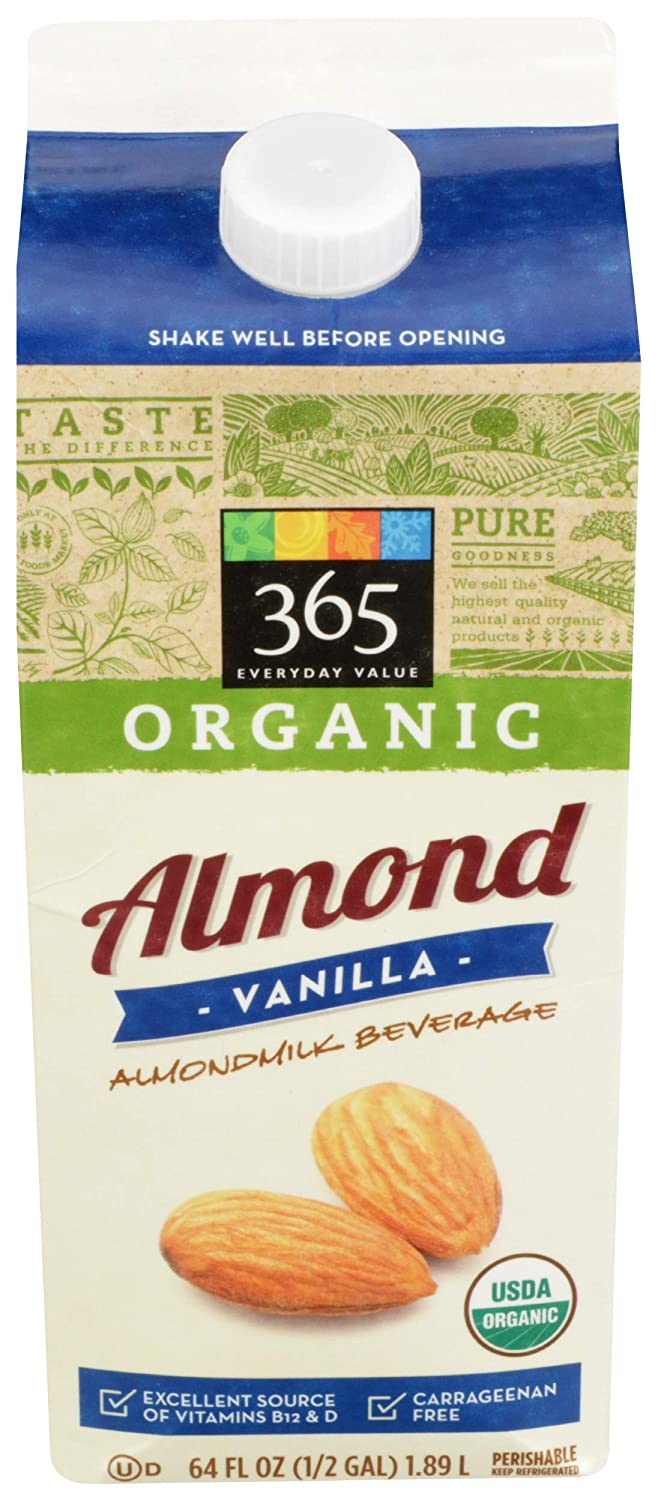 365 by Free shipping anywhere in the nation WFM Almond Milk Fl Oz 64 Vanilla Organic Colorado Springs Mall