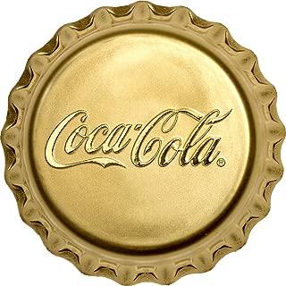 2018 FJ Cocacolacap PowerCoin COCA COLA Bottle Cap Shape Gold Coin 25$ Fiji 2018 Proof