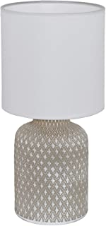 EGLO BELLARIVA Lámpara de mesa, 40 W, gris
