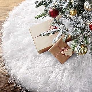 Promise Babe 122cm Jupe de Sapin de No/ël D/écorations darbre de No/ël Tapis Couvre Pied Sapin Noel pour F/ête de No/ël D/écoration