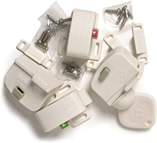 Safety 1st Magnetic Cabinet Locks, 4 Locks + 1 Key
