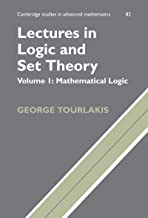 Best mathematical logic george tourlakis Reviews