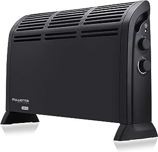 Rowenta Vetissimo II CO3030F1 Calefactor funcionamiento a 1200 W o 2400 W, dos ajustes de temperatura, termostato mecánico, posición antiescarcha, calefactor de aire caliente, silencioso