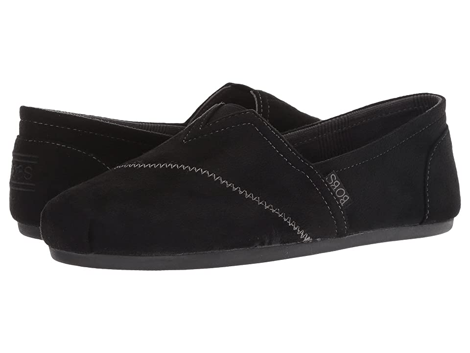 BOBS from SKECHERS Bobs Plush Wonder Love (Black) Women