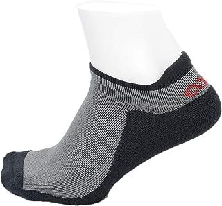 Men's Athletic Blister Free Socks| No Smell Silver Fiber |Gray & Black