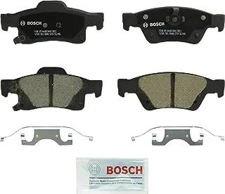 Bosch BC1498 QuietCast Premium Ceramic Disc Brake Pad Set For: Dodge Durango; Jeep Grand Cherokee, Rear