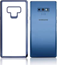 Samsung Galaxy Note 9 Case – Soft TPU & PC Phone Case with Slim Design & Clear Back Cover – Shockproof & Scratch Resistant Android Smartphone Protective Case in Black Or Navy Blue