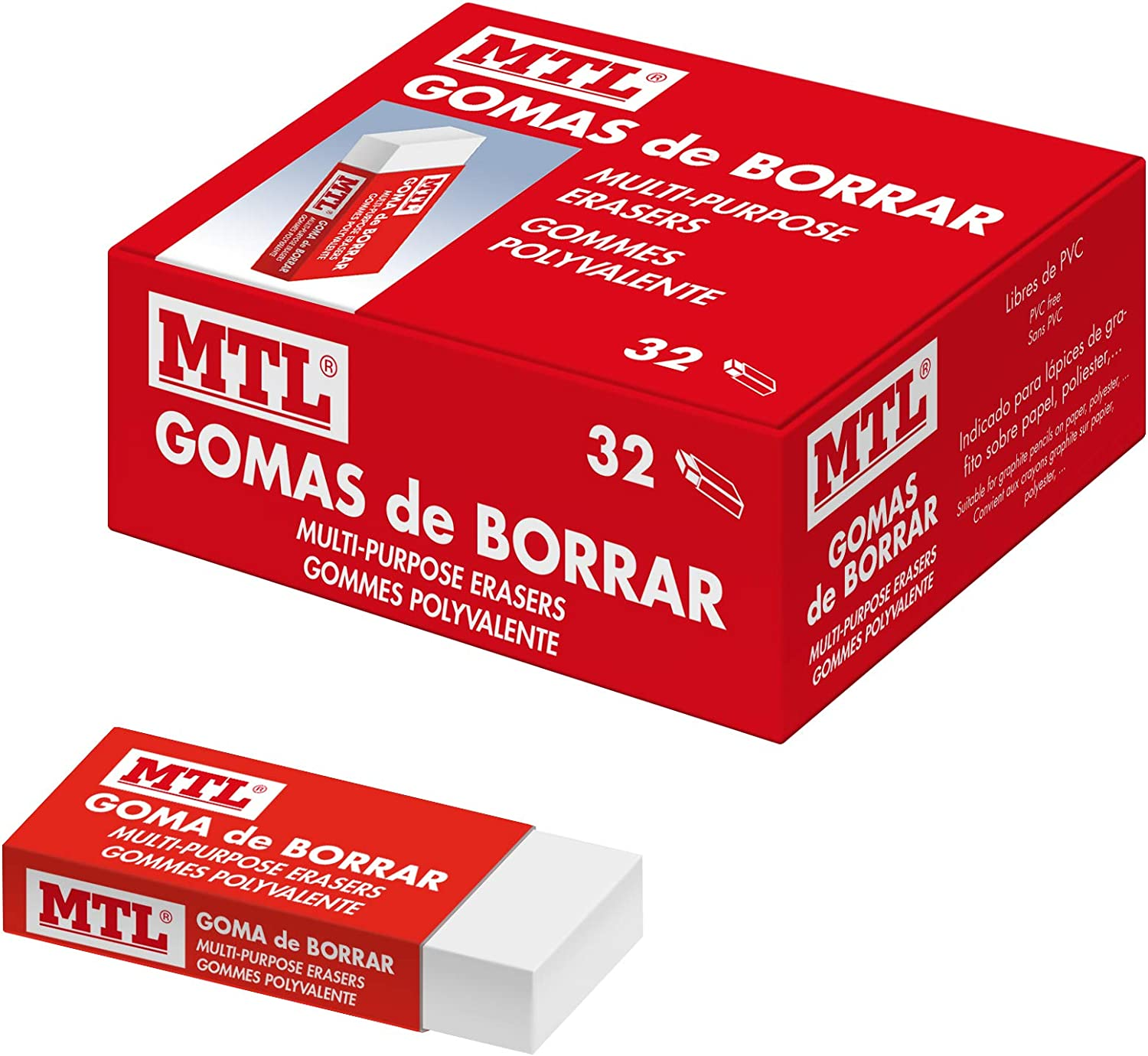 Dohe 5% OFF – Box of Erasers 32 shopping Units