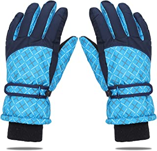 EGOGO Winter Ski Sports Water-Resistant Windproof Snow Gloves with Wrist Strap Thinsulate Insulated Lined for Girls and Wo...
