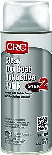 CRC 18018 Clear Reflective Paint - Top Coat, 12 WT oz., Aerosol