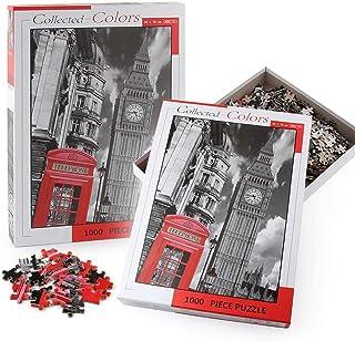 1000 قطعة من الالغاز الورقية، نموذج بناء - لندن