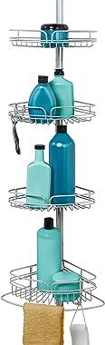 Zenna Home 2161PC - Soporte para barra de ducha (cromo satinado)