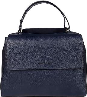 Orciani Luxury Fashion Donna BT2006SOFTNAVY Blu Pelle Borsa A Mano | Ss21