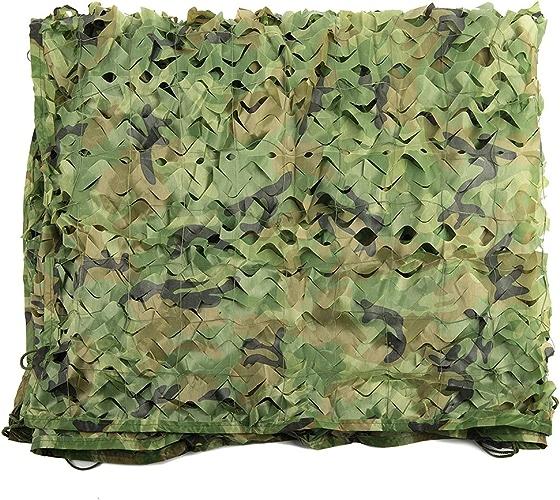Armée Camo Netting, Filet de camouflage, Filets militaires, Auvent, Filets de prougeection solaire, Stores pour les parasols Camping Tir Chasse Pêche Décoration de fête Regarder Cacher