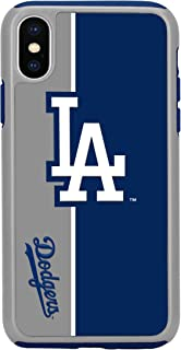 Forever Collectibles iPhone X Dual Hybrid Bold Case - MLB Los Angeles Dodgers