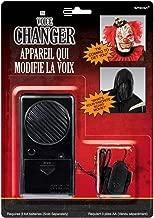 Amscan Halloween Voice Changer Party Supplies, Black