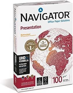 Navigator Presentation - Papel multifunción, 500 hojas (A4, 100 g/m2), color blanco