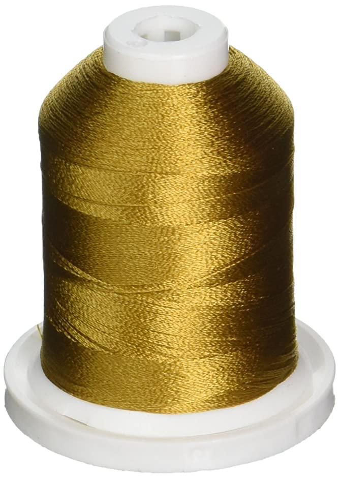 Robison-Anton Rayon Super Strength Thread, 1100-Yard, Old Gold