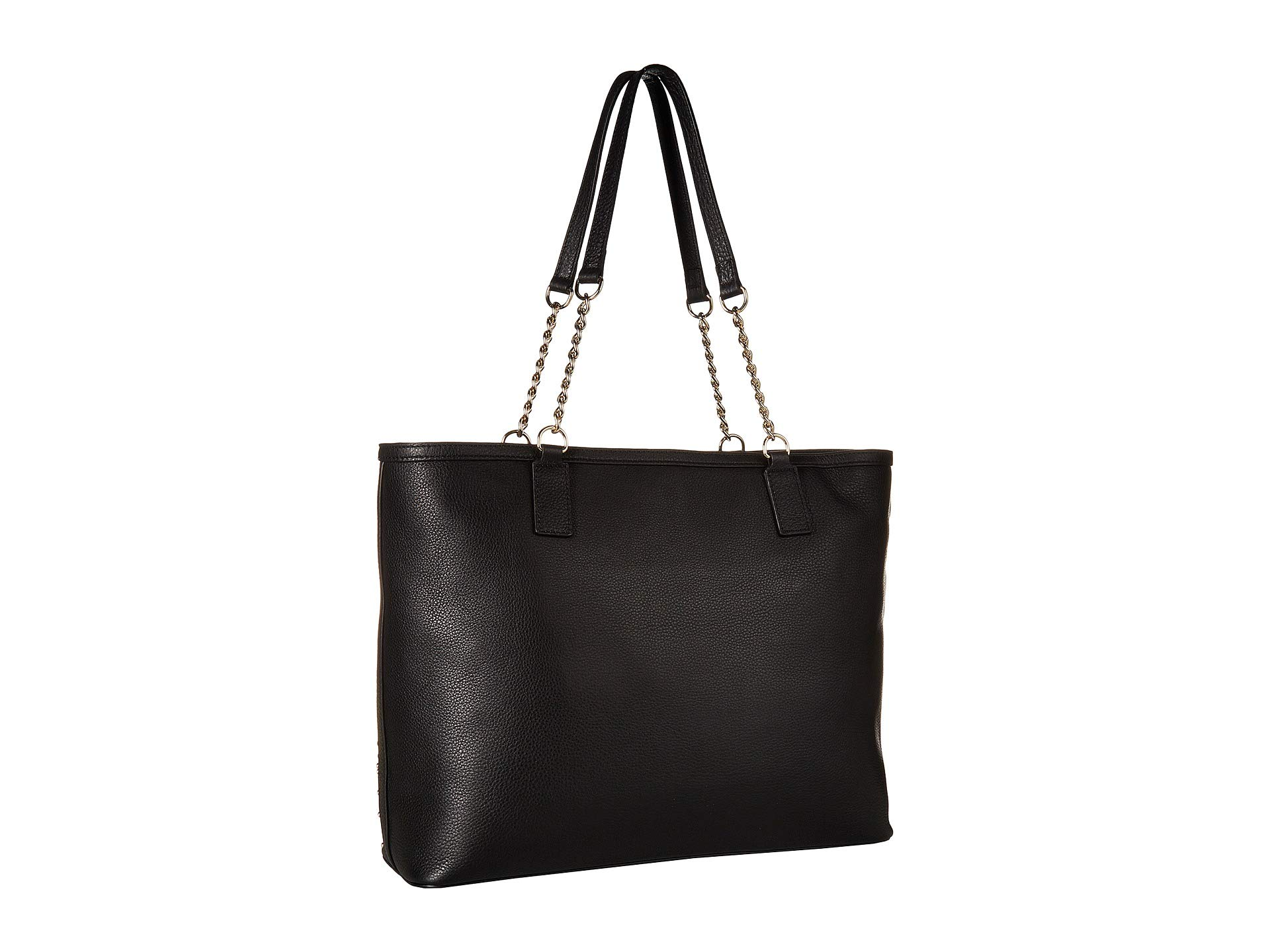 Love Tote Black Studded Moschino Heart xwqgqY6FR1