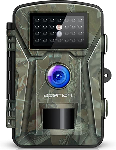 APEMAN Trail Camera 12MP 1080P 2 4 LCD Game Hunting Camera With 940nm Upgrading IR LEDs Night Vision Up To 65ft 20m IP66 Spray Water Protected Design