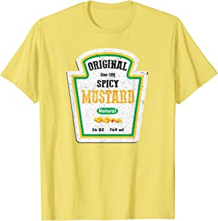 Funny vintage spicy mustard sauce Halloween costume gift T-Shirt