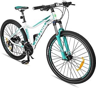 FITTOO Xnice 27.5'' Unisex Mountain Bike - 27 Speed - Aluminum Frame - Lightweight - 4 Colour Options