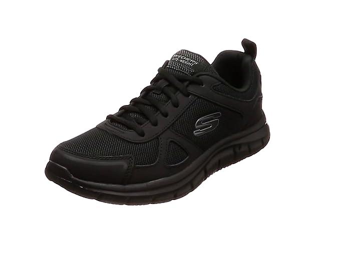 Skechers Track-scloric 52631-bbk, Zapatillas para Hombre