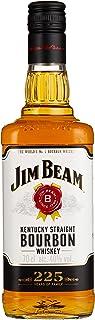 Jim Beam White Kentucky Straight Bourbon Whiskey, vollmundiger und milder Geschmack, 40% Vol, 1 x 0,7l
