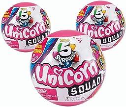 ZURU 5 Surprise Unicorn Squad Mystery Collectible Capsule (3-Balls)