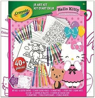Crayola Hello Kitty Ultimate Art Kit Jr