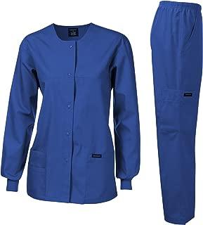 Original Fit Crew Round Neck Warm-Up Jacket
