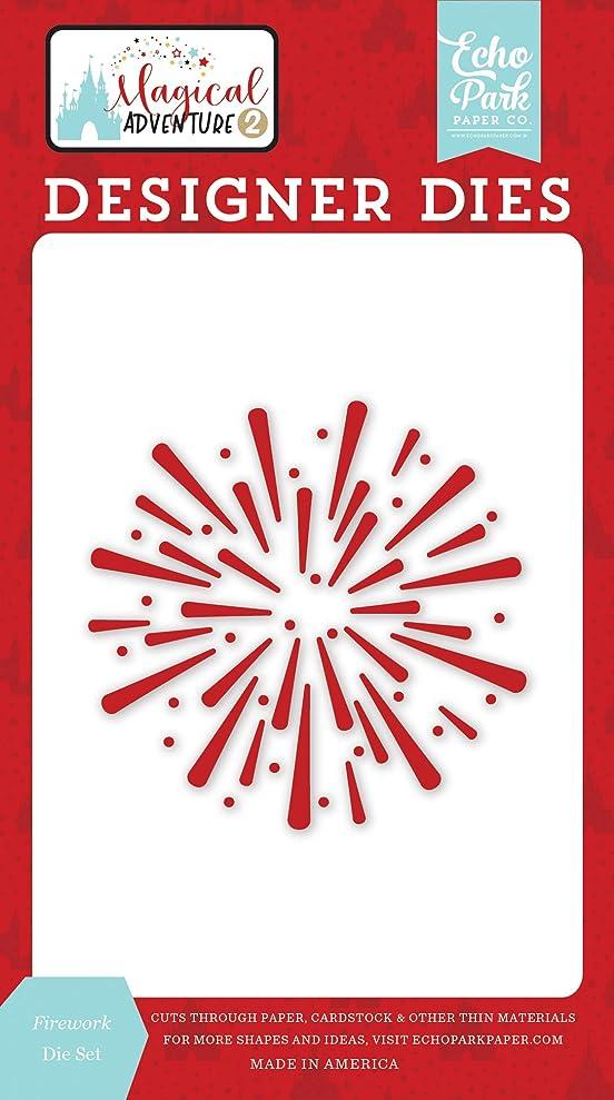 Echo Park Paper Company MAG177042 Firework Set die Black, red, Yellow, Teal, Kraft