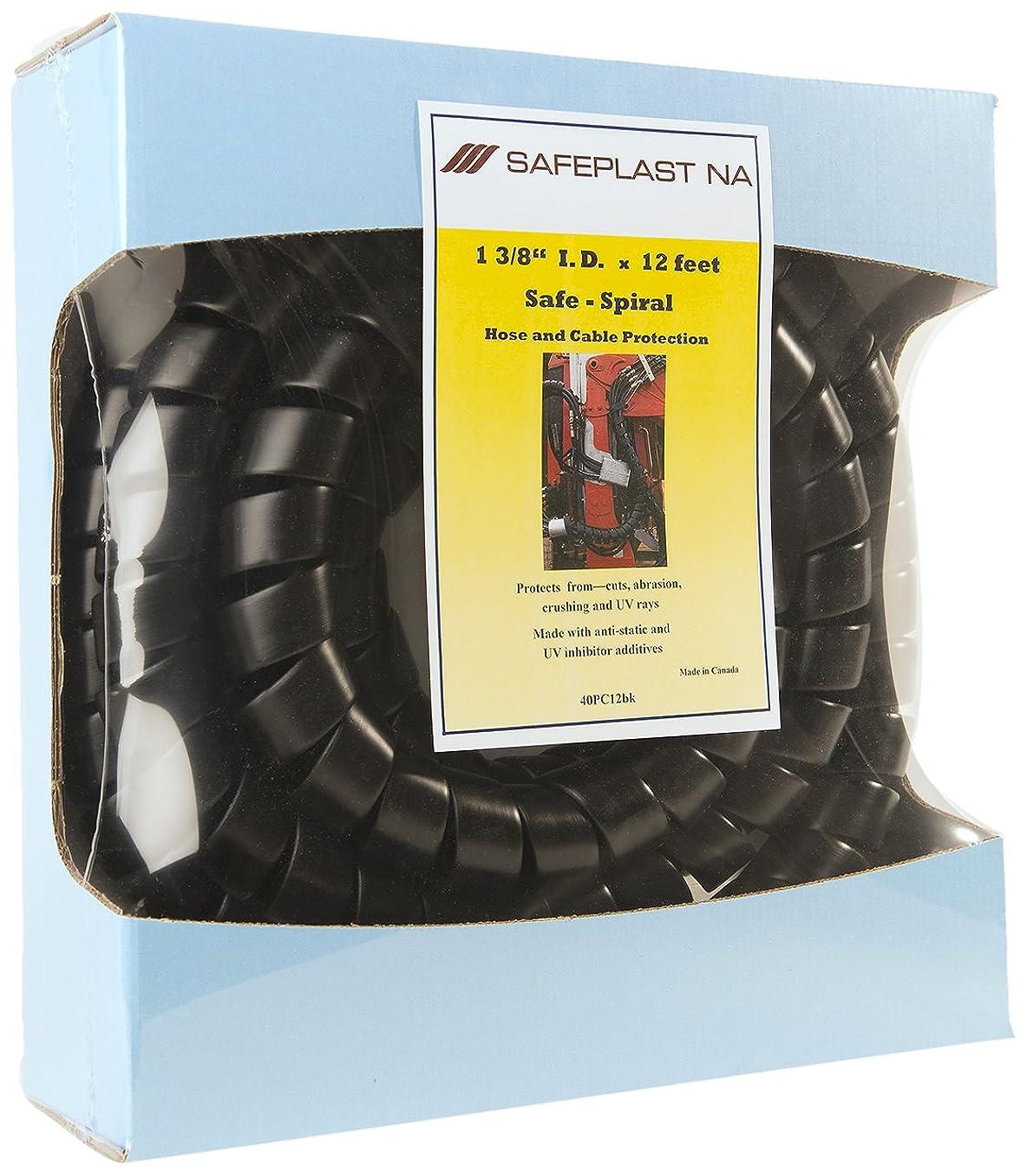 Pre-Cut Spiral Wrap Hose Protector, 1.5